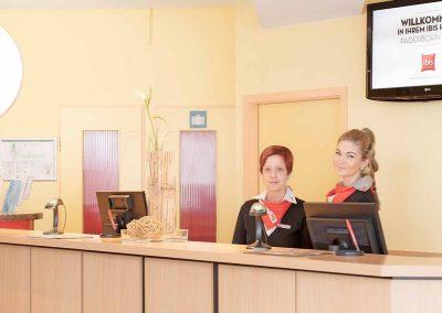 Ibis Hotel Paderborn City Empfang